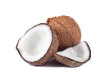 изолированный кокос стоковые изображения rf