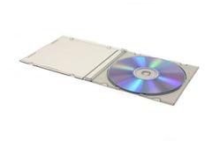 изолированный компактный диск Стоковое Изображение RF
