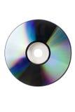 изолированный компактный диск Стоковое Изображение
