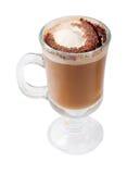 изолированный кофе коктеила chokolate Стоковая Фотография RF