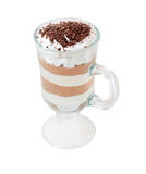 изолированный кофе коктеила chokolate Стоковые Фотографии RF