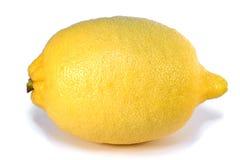 изолированный лимон стоковые фотографии rf