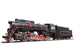 изолированный локомотивный пар Стоковые Фотографии RF