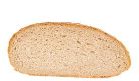 Изолированный ломтик хлеба Стоковые Фотографии RF