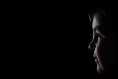 изолированный мальчик Стоковое Фото