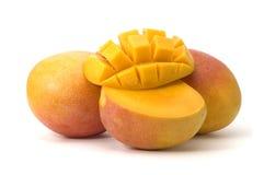 изолированный манго Стоковая Фотография