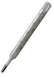 изолированный медицинский термометр Стоковое Фото