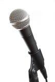 изолированный микрофон вокальный Стоковые Фотографии RF