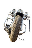 изолированный мотоцикл Стоковые Изображения