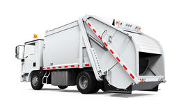 Изолированный мусоровоз Стоковое Изображение RF