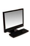 изолированный настольный компьютер компьютера Стоковое фото RF