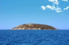 изолированный остров Стоковые Изображения RF