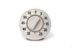 изолированный отметчик времени кухни Стоковое Изображение