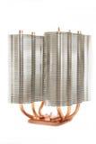 изолированный охладитель компьютера Стоковая Фотография RF