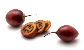 Изолированный плодоовощ Tamarillo Стоковое Изображение RF