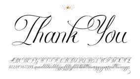 изолированный подарок карточки благодарит белизну вы Стоковые Изображения RF