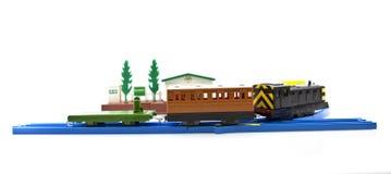 изолированный поезд игрушки Стоковая Фотография RF