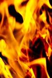 изолированный пожар предпосылки черный Стоковое фото RF
