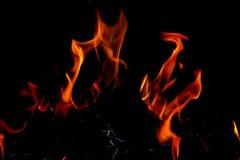 изолированный пожар Стоковые Изображения