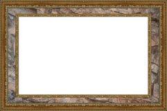 Изолированный, рамка фото, картинная рамка Стоковое Изображение
