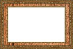 Изолированный, рамка фото, картинная рамка Стоковое Фото