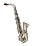 изолированный саксофон Стоковое Изображение RF
