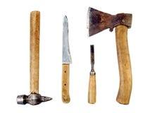 изолированный сбор винограда инструментов Стоковая Фотография