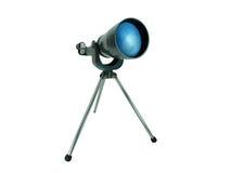 изолированный сбор винограда телескопа металла Стоковое Фото