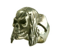 изолированный серебр кольца Стоковая Фотография RF