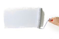 изолированный серебр platen Стоковые Изображения RF