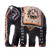 изолированный слон Стоковые Изображения