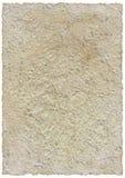 изолированный старый бумажный сбор винограда Стоковое фото RF