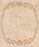 изолированный старый бумажный сбор винограда Стоковые Фотографии RF