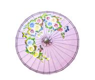 Изолированный стиль зонтика традиции тайский стоковое фото rf