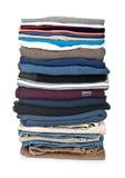 Изолированный стог одежды стоковое фото rf