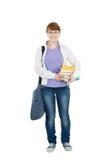 изолированный студент Стоковая Фотография RF