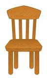 изолированный стул Стоковое Изображение