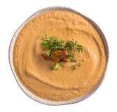 Изолированный суп лисички Стоковое Изображение