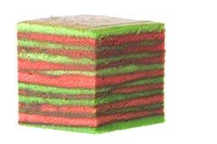 изолированный торт наслоенным стоковые фото