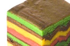 изолированный торт наслоенным стоковое фото rf