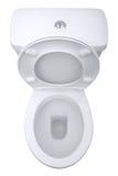 изолированный туалет Стоковое Фото