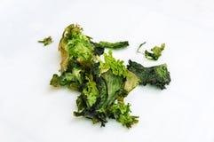 Изолированный тухлый салат на белой предпосылке стоковые изображения rf