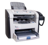 изолированный факс Стоковые Изображения RF