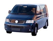 изолированный фургон пассажира Стоковые Фото
