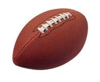 Изолированный футбол стоковая фотография