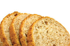 изолированный хлебом стог ломтика Стоковые Фотографии RF