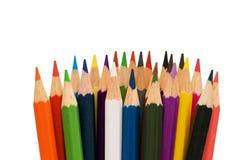 изолированный цвет рисовал различное Стоковая Фотография RF