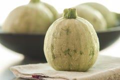 Изолированный цукини vegetable сердцевины сквоша Стоковое Фото