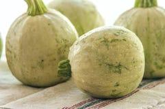 Изолированный цукини vegetable сердцевины сквоша Стоковое Изображение