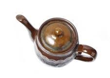 изолированный чайник стоковые изображения rf